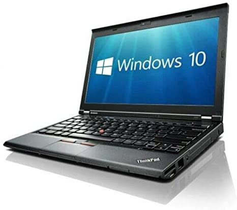 Lenovo X230 (12in Laptop) [Intel Core i5 3320M 2.60GHz, 8GB Memory, 256GB SSD,with Windows 10 Professional (Renewed): Amazon.co.uk: Computers & Accessories