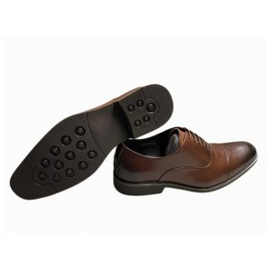 England Brogue Coffee Black Leather Shoes