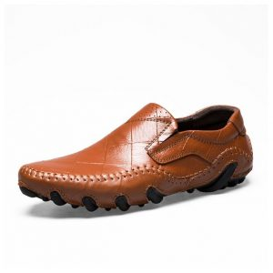 Enlen&Benna Genuine Leather Casual Loafers Ghulio