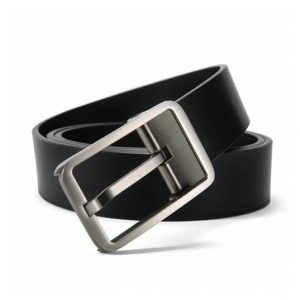 Haut-Ton Black Pure Leather Belt Ghulio