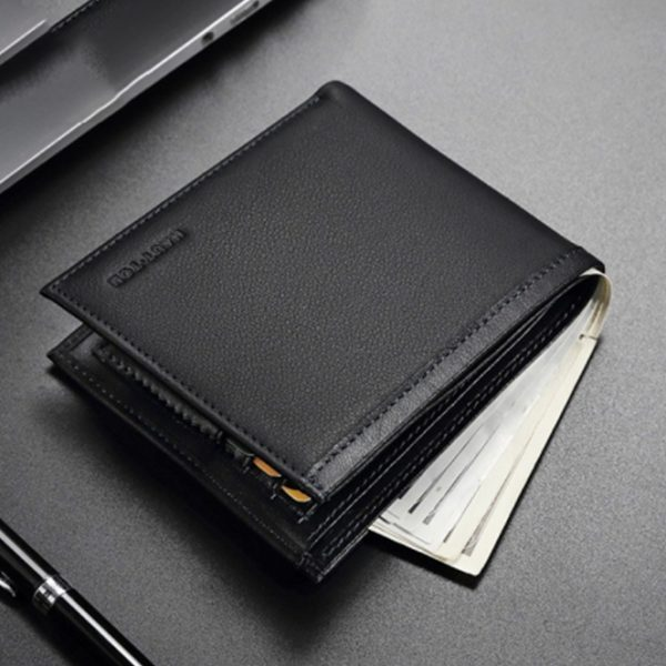 Haut Ton High-end Leather Bifold Men Wallet Ghulio