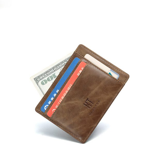 Haut Ton High-end Leather Bifold Men Wallet Kenya
