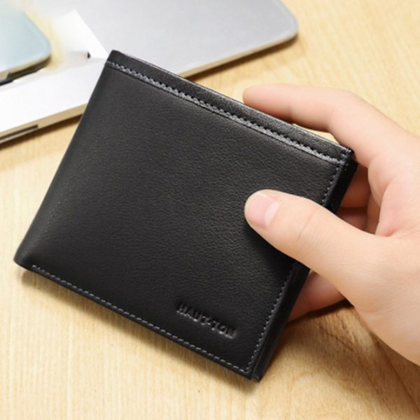 Haut Ton High-end Leather Bifold Men Wallet Nairobi
