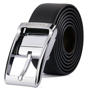 Haut-Ton Leather Black Belt Ghulio
