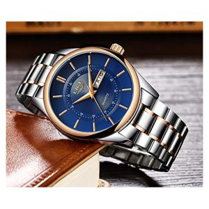 Lige 9870 Business Waterproof Quartz Watch Kenya