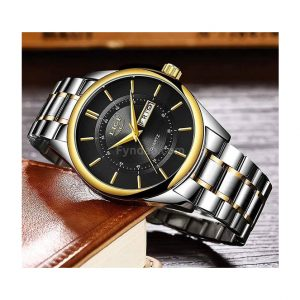 Lige Business Waterproof Quartz Watch ghulio