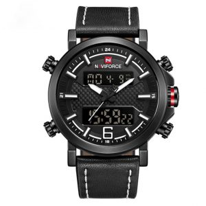 Naviforce Sport Leather Waterproof Quartz Watch Kenya