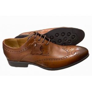 Roberto Venutti Brown Wing Tip Oxford