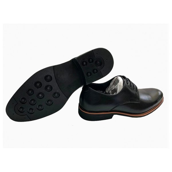 Sos Black Lace Up Leather Shoes ghulio