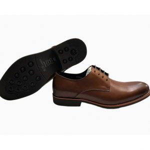 Sos Brown Leather Wingtip Oxford Ghulio
