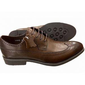 Sos Brown Pure Leather Oxford Ghulio