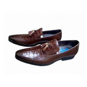 Sos Coffee Brown Non Laced Oxfords Ghulio
