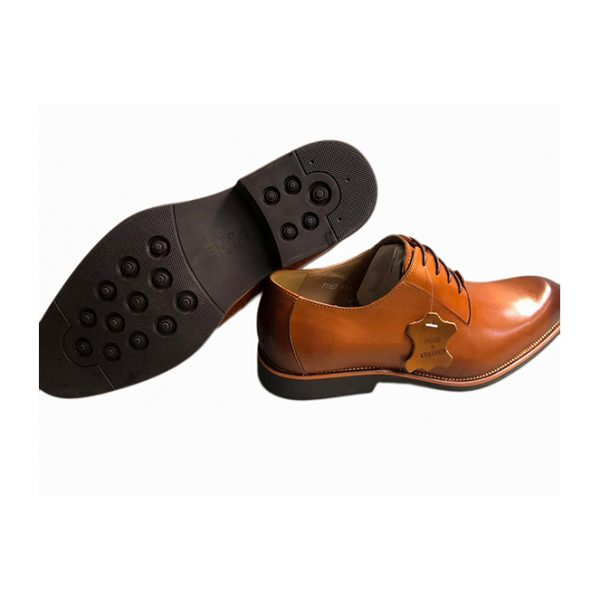 Sos Leather Sharp Brown Wingtip Shoes