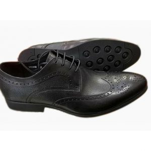Sos Oxford Coffee Brown Leather Shoes ghulio