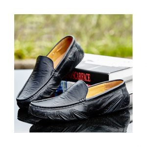 Yd-Ever 1718 Genuine Leather Men Casual Shoes Ghulio