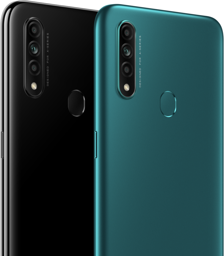 Oppo Colors: Mystery Black | Lake Green